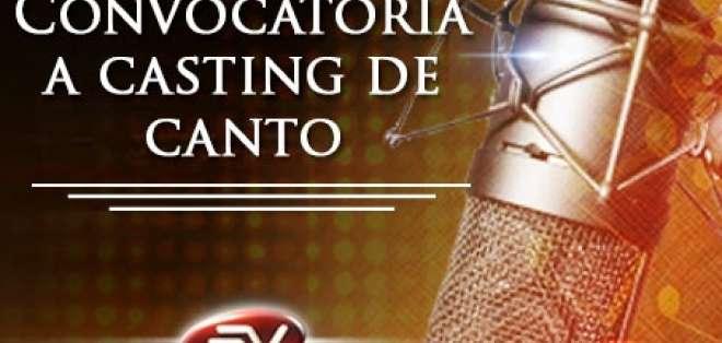Ya llega la hora de hacer oír tu canto ¡Asiste al casting este sábado en Quito y Guayaquil!
