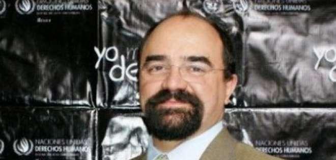 El mexicano Emilio Álvarez Icaza elegido nuevo secretario de la CIDH