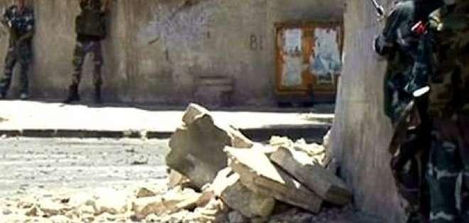 La artillería del régimen sirio continúa sus ataques en Damasco