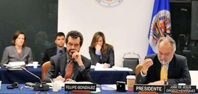 Patiño acusa a CIDH de poco transparente en elección de secretario