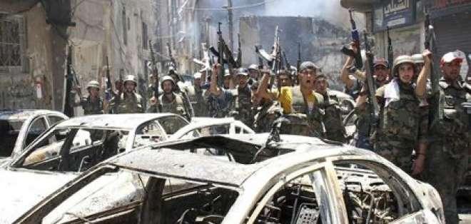 Rebeldes denuncian decenas de muertos por la represión en Siria