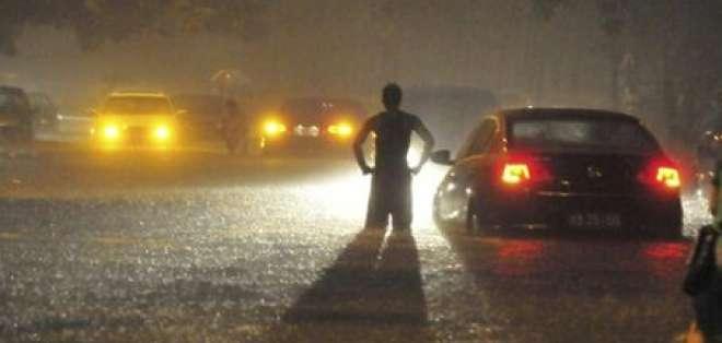 Lluvias causan 95 muertos y más de seis millones de afectados en China
