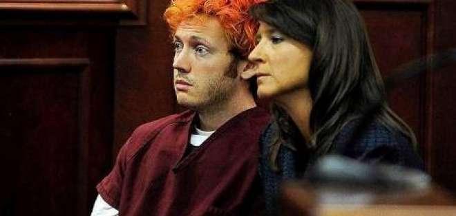 Sospechoso de la matanza de cine en Colorado comparece ante tribunal