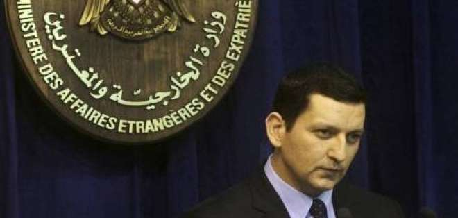 Siria amenaza con usar armas químicas en caso de intervención extranjera
