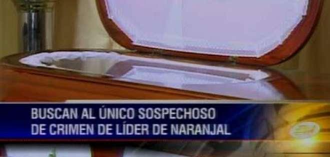 Se busca a sospechoso de matar al presidente de Junta Cívica de Naranjal