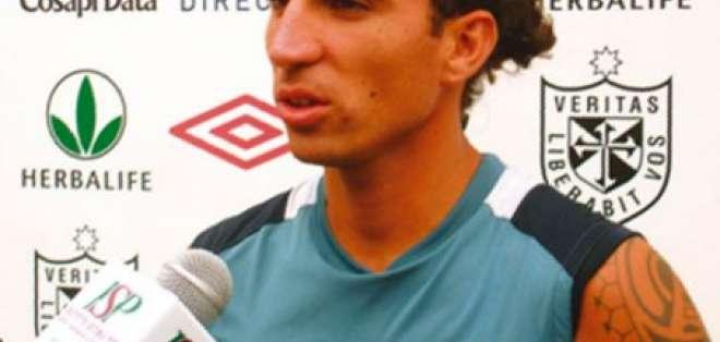 Pablo Vitti y Harrison Gómez fueron presentados en Liga de Quito
