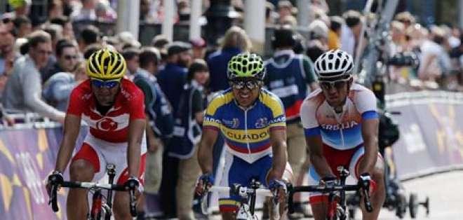 Byron Guama llegó en puesto 114 en Ciclismo de Ruta