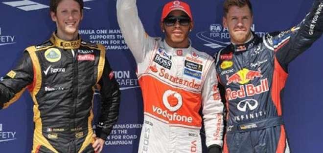 Hamilton saldrá desde la 'pole' en la fiesta de cumpleaños de Alonso