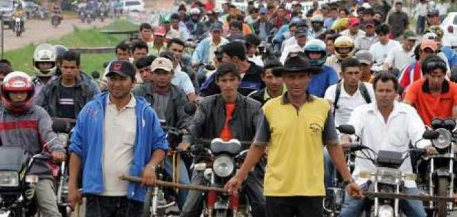 Campesinos abogan por recuperación de tierras de zona de matanza en Paraguay