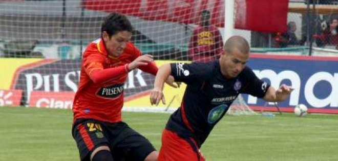 Deportivo Cuenca empata a un gol ante Olmedo en casa