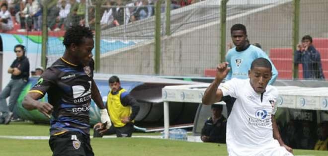 Liga de Quito le pudo ganar a Independiente en Casa Blanca