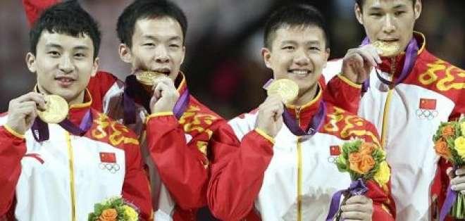 China marca el ritmo en el medallero de Londres 2012