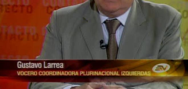 Larrea: 'No odio a Rafael Correa, discrepo con él'
