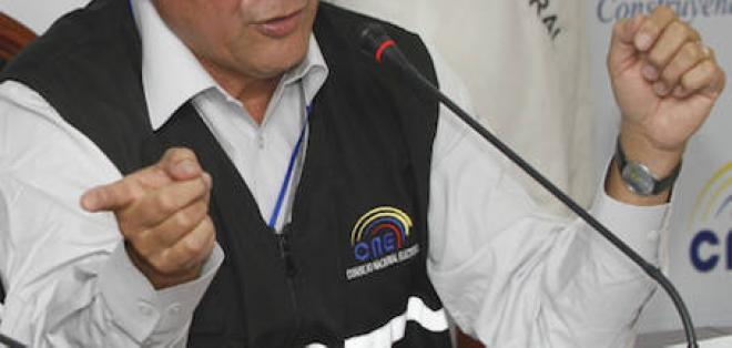 CNE aprobó reglamento de inscripción de candidaturas