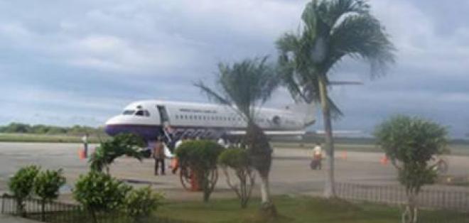 Aeropuerto de Manta no operará desde esta medianoche hasta el próximo martes