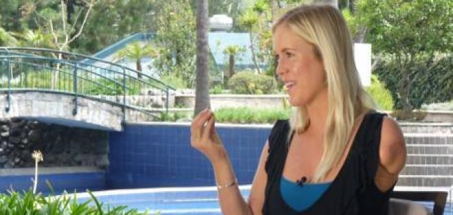 Bethany Hamilton, una surfista con alma de guerrera