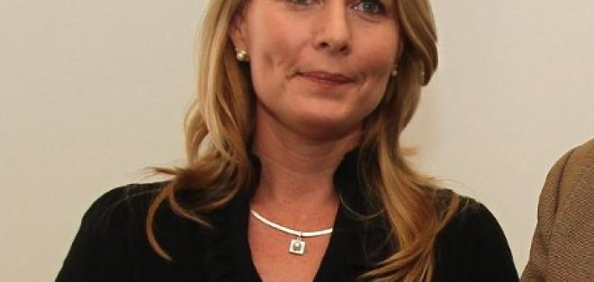 Perla Boyes Fuller es la compañera de fórmula de Lucio Gutiérrez