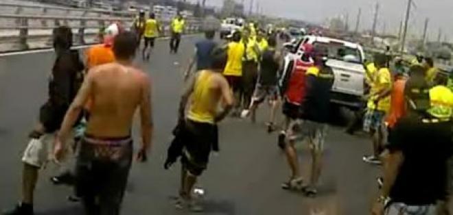 Más de 20 policías son llamados a declarar por la muerte de hincha