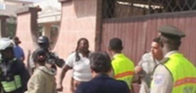 Comerciantes del Valle del Chota se enfrentaron con la Policía