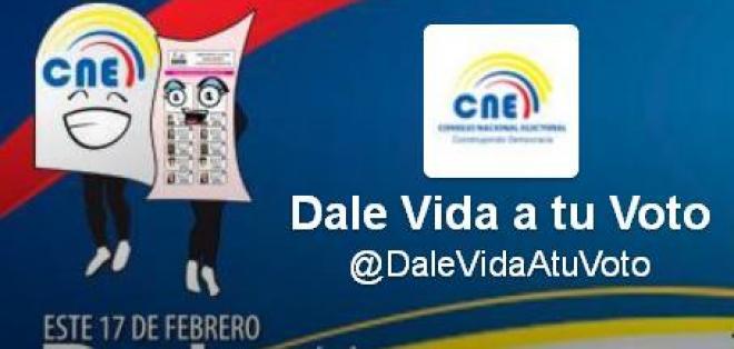 CNE habilita cuenta de Twitter para informar a votantes
