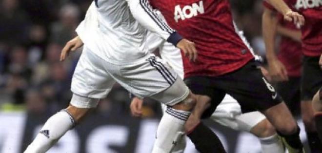 Con Valencia en cancha, el United empató al Madrid en el Bernabeu