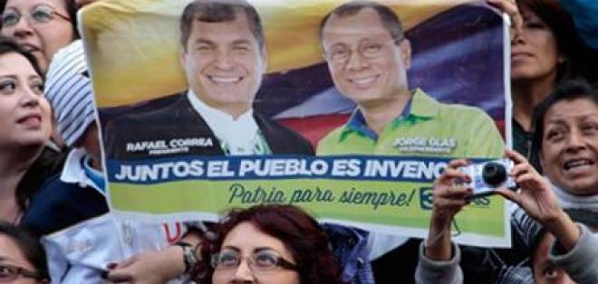 La UE felicita a Correa y valora la celebración de unas elecciones pacíficas