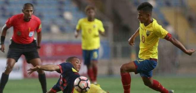 El volante de la selección sub-20 habló sobre cómo se preparan para el Sudamericano. Foto: Tomada de @Somos_Cantera