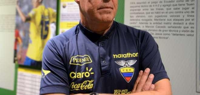 El director de selecciones formativas y DT de la sub-20 de Ecuador mandó un mensaje. Foto: Archivo