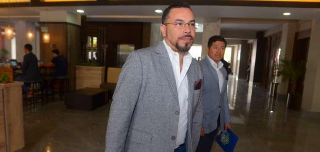 El vicepresidente de Barcelona aún no confirmó si irán por la reelección. Foto: Archivo