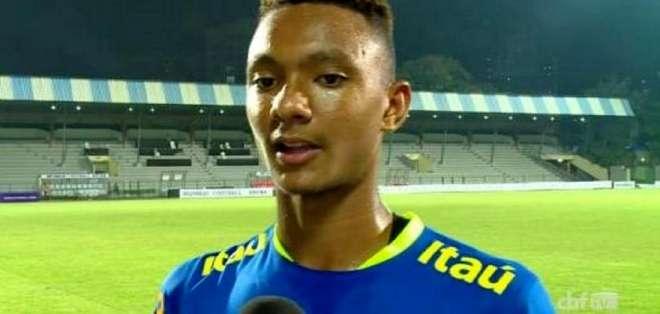 Luan Candido, joya brasileña que estuvo en el Sudamericano sub 20.
