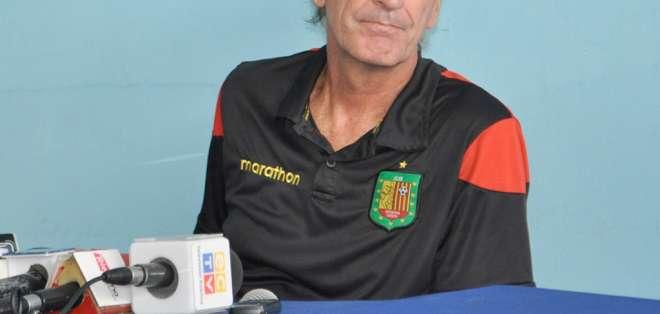 Gustavo Soler, entrenador del D. Cuenca.