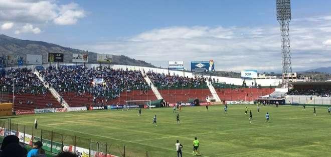 Estadio Bellavista de Ambato.