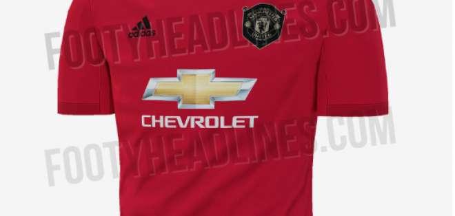 La nueva camiseta del Manchester United.