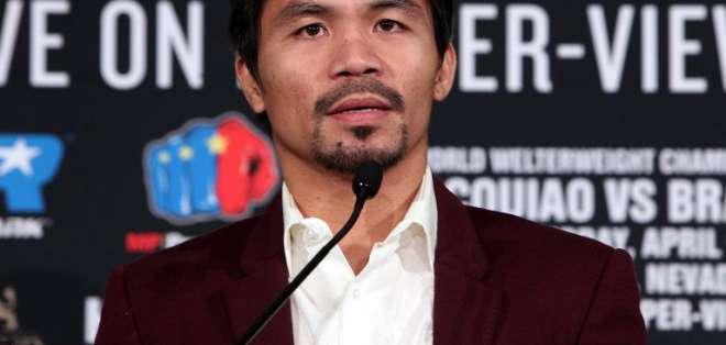 El boxeador de 40 años puso una encuesta para que sus fans eligieran su contrincante. Foto: Archivo