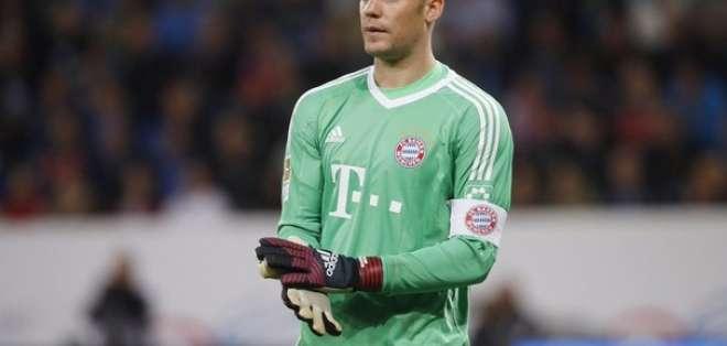 Manuel Neuer, figura del Bayern Munich.