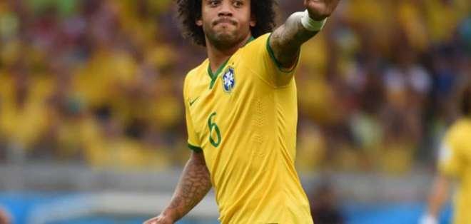 Marcelo, figura del Real Madrid y de Brasil.