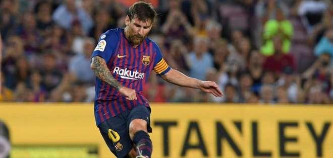 Messi, estrella de FC Barcelona