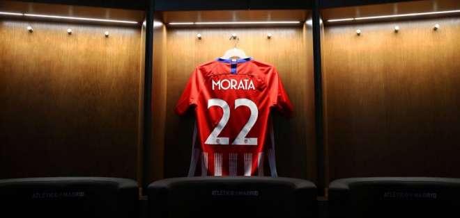 Atlético de Madrid publicó la camiseta de su nuevo refuerzo