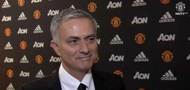 José Mourinho, exentrenador del Manchester United.