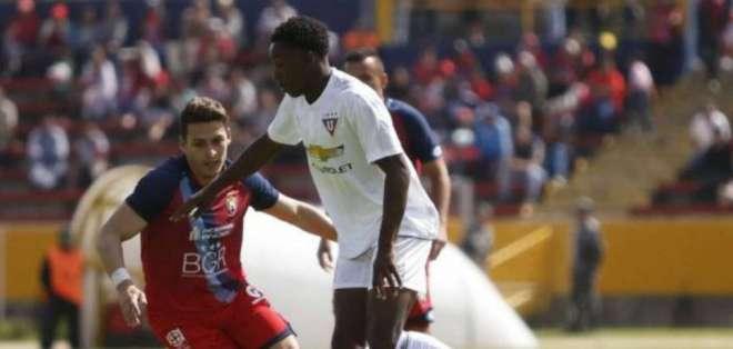 El Nacional igualó con Liga por la novena fecha.