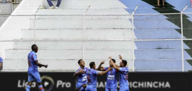 El 'Ciclón de los Andes' logró una segunda victoria consecutiva. Foto: API