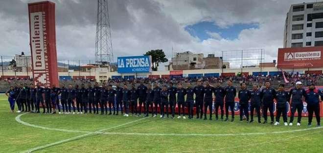 Olmedo de Riobamba en su presentación oficial