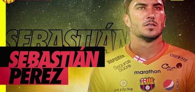 BSC oficializa al volante colombiano Sebastián Pérez
