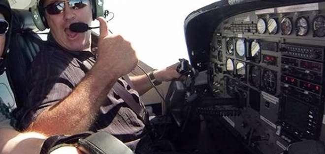 Dave Ibbotson, piloto.