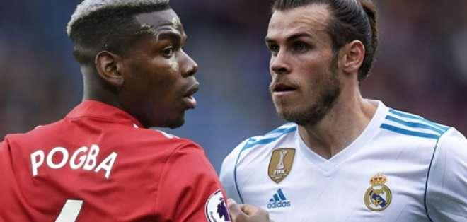 Paul Pogba y Gareth Bale, figuras de ambos clubes.