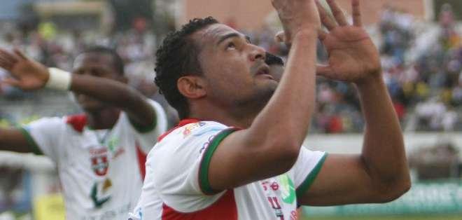 Fábio Renato en su paso por Liga de Loja.
