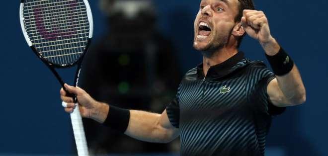 El español se clasificó a la final del torneo. Foto: KARIM JAAFAR / AFP