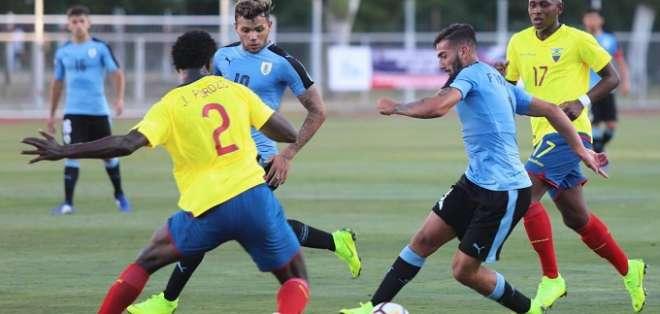 Ecuador no pudo ante Uruguay en Chile