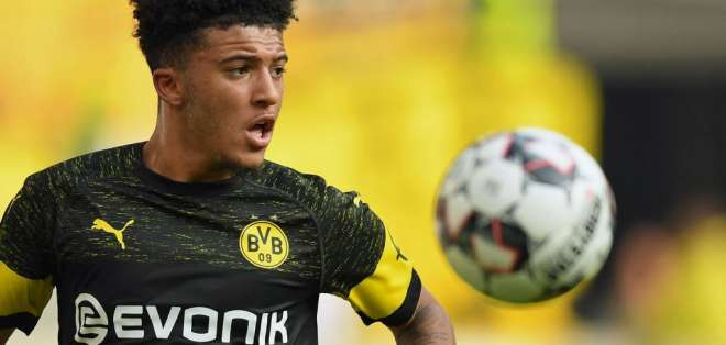 Sancho, joven figura del Borussia Dortmund.