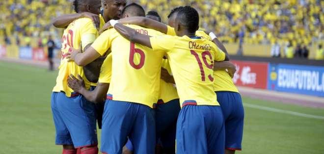 La selección ecuatoriana aparece en el lugar 58 en la nueva publicación de dicha lista. Foto: Archivo